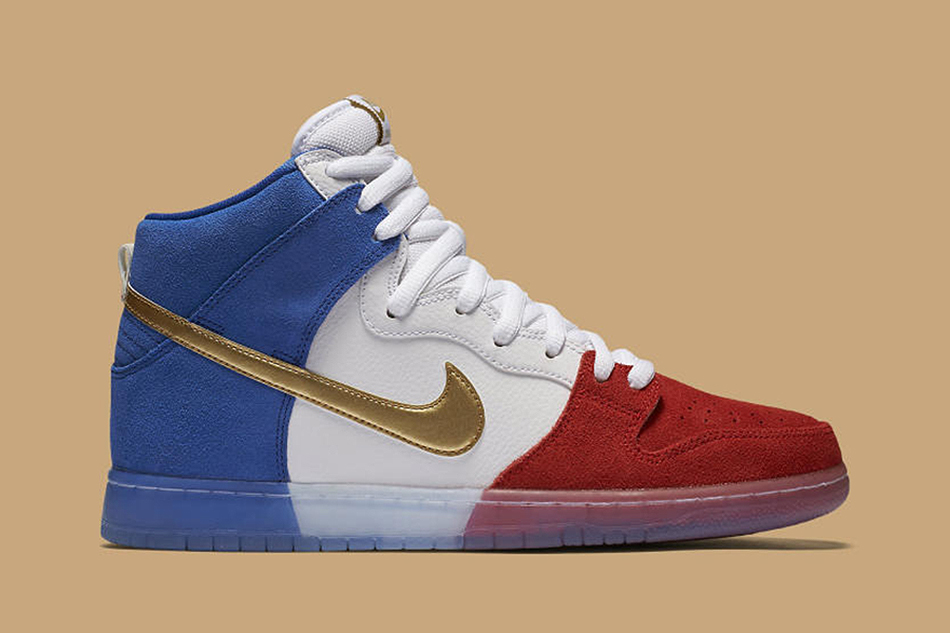 "Nike SB Dunk High ""Tricolor"""