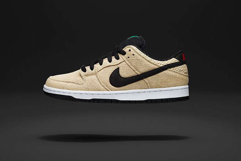 """Nike SB Drops """"Bamboo"""" Colorways of the Dunk Low & GTS"""