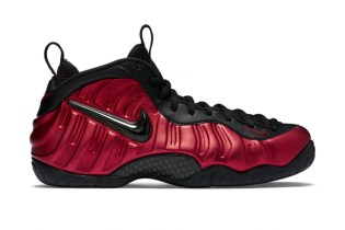 "Nike Brings Back the Foamposite Pro in an OG ""University Red"" Colorway"