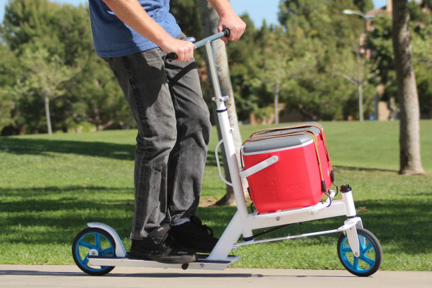 The Nimble Urban Cargo Scooter Is Your Personal Workhorse