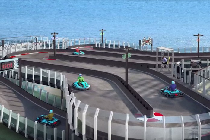 You'll Soon Be Able to Go Kart on a Cruise Ship