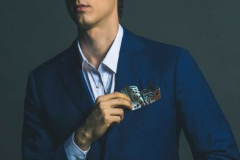 Novel Fineries Transforms Butterfly Wings Into Pocket Squares