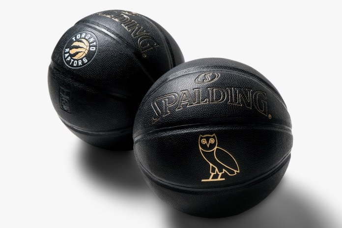 October's Very Own Connects With the Toronto Raptors for Special Spalding Basketball