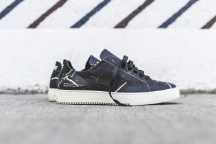 OFF-WHITE Outfits Its Sneakers in Marble Print and Perforations