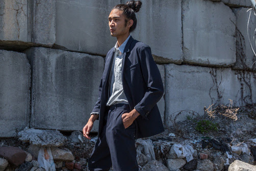 """Outlier Introduces a Range of Loose-Fitting Garments in """"A Loose Cut Landscape"""" Lookbook"""