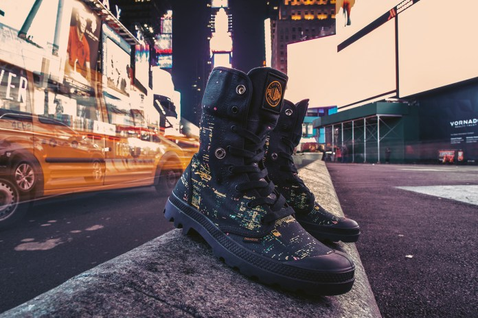 Palladium & SSUR*PLUS Pay Homage to NYC's Skyline in Their Latest Collaboration
