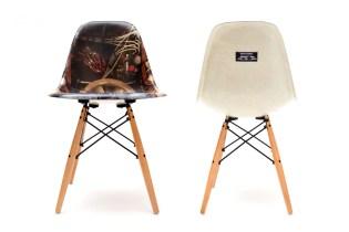 Period Correct x Modernica Exclusive Fiberglass Side Shell Chair