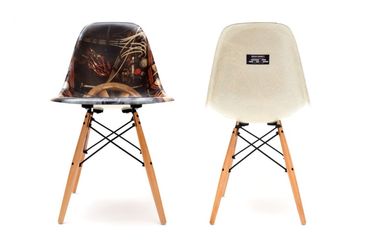 Period Correct x Modernica Exclusive Fiberglass Side Shell Chair