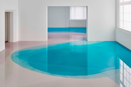 Peter Zimmermann Floods the Freiburg Museum With Colorful Pools