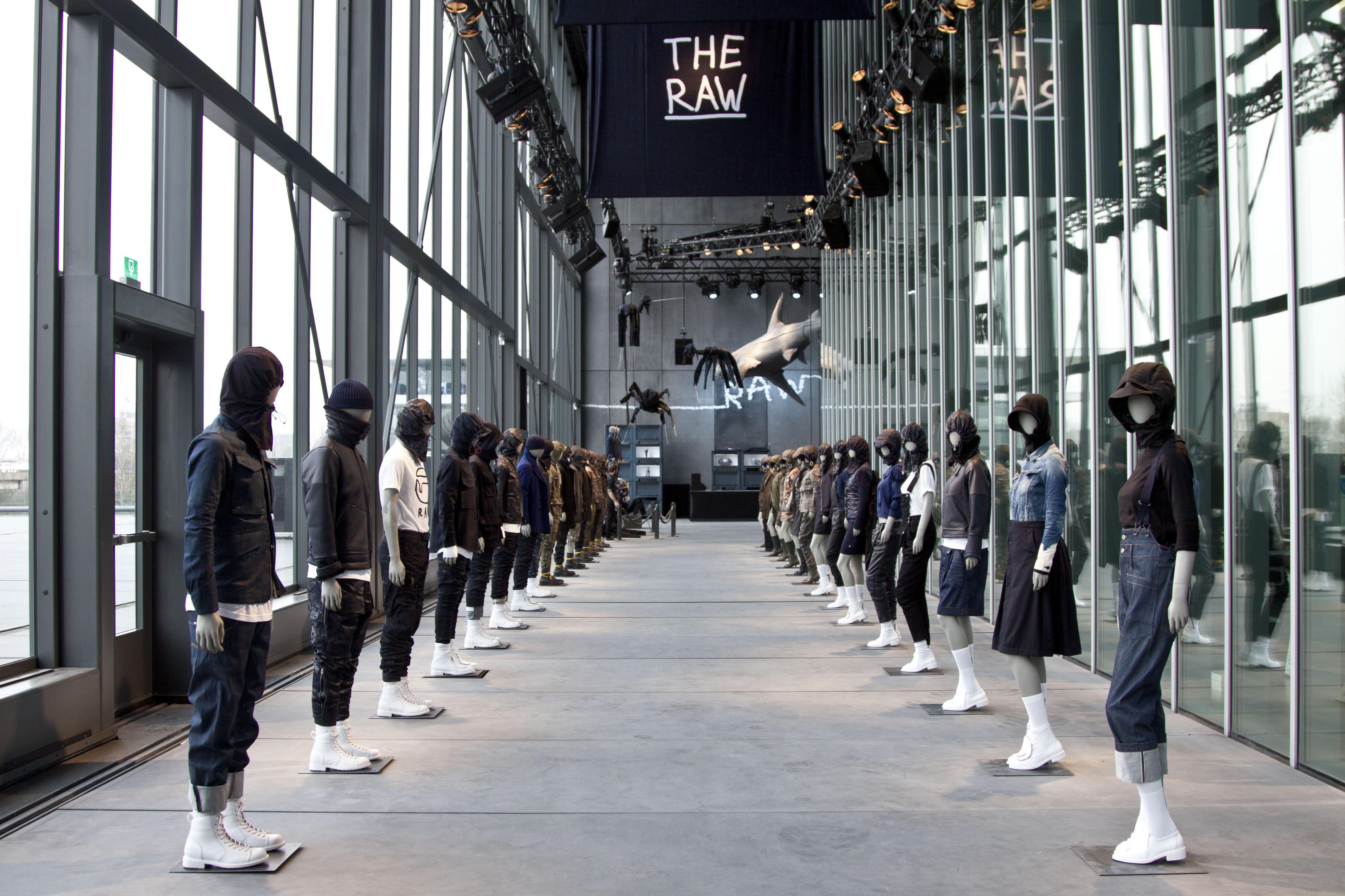 Pharrell's RAW Gallery @ G-Star Headquarters, Amsterdam