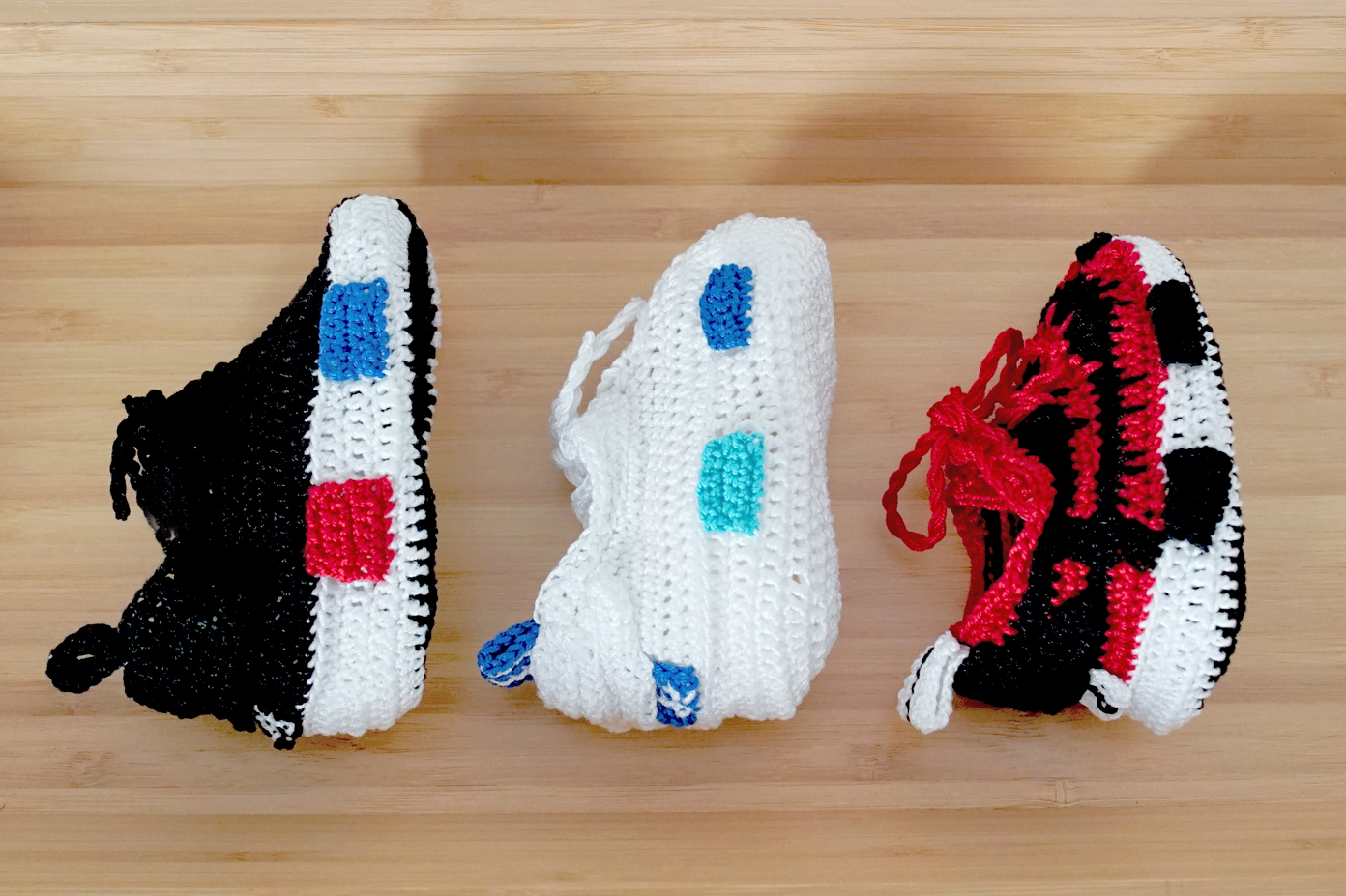 #hypebeastkids Picasso Babe Introduces Crochet adidas NMDs