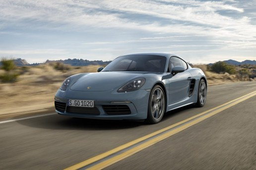 The 2017 Porsche 718 Cayman Includes Four-Cylinder Engines
