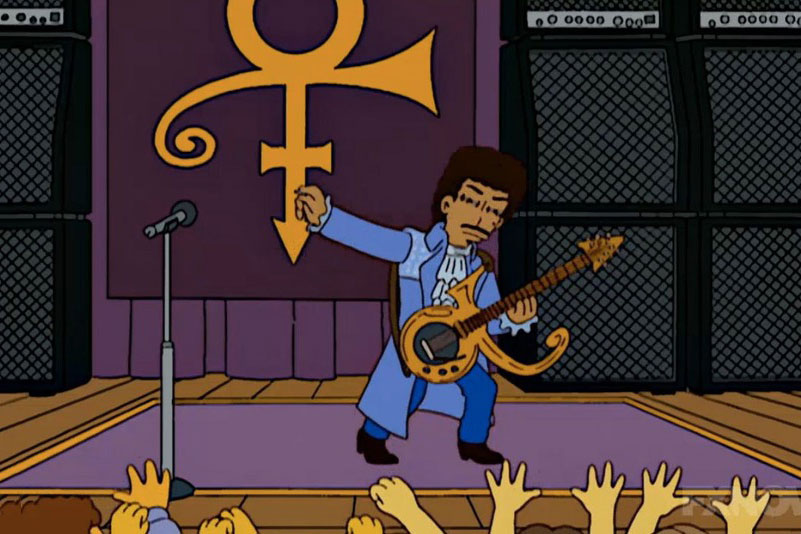 Scripts Reveal Prince's 'The Simpsons' Cameo That Never Was