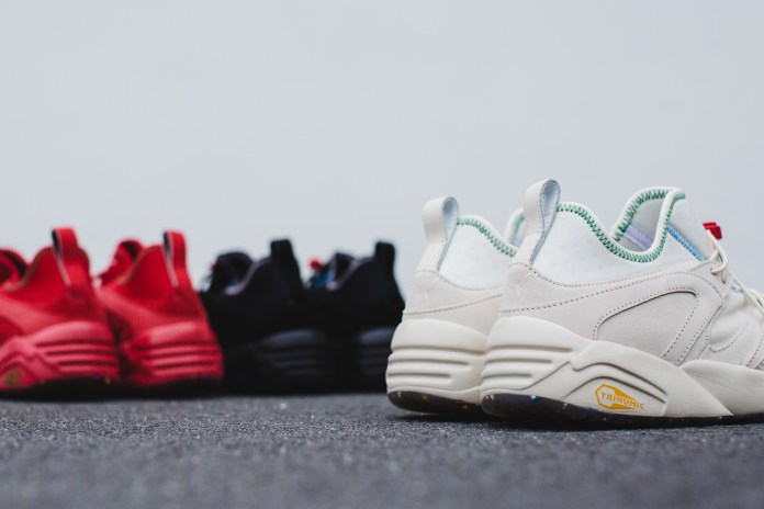 "PUMA Reveals Its Blaze of Glory ""Flag"" Pack"