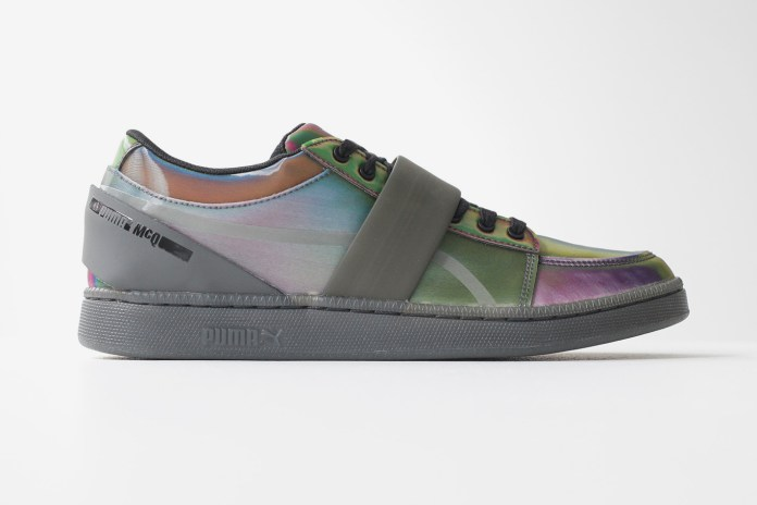 PUMA & McQ Unveil an Iridescent Take on the Serve Lo Nu
