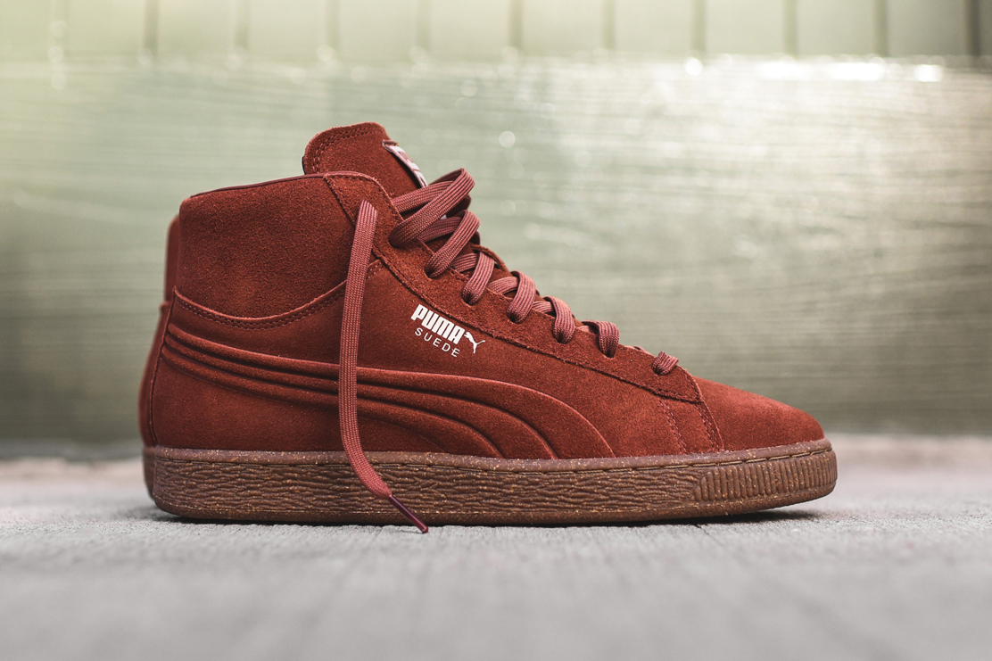 PUMA's Suede Emboss Pack Raises to a Clean Mid