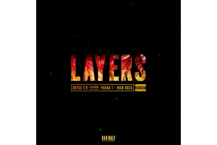 "Pusha T, Rick Ross & Royce Da 5'9"" Connect for ""Layers"""