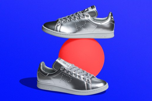 "The Raf Simons x adidas Originals Stan Smith ""Silver"" Is Finally Available"