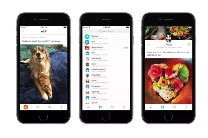 Reddit Launches Official Mobile Apps