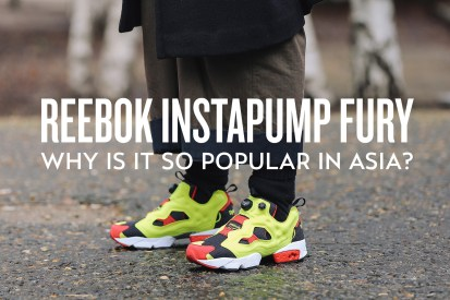Why Is the Reebok Instapump Fury So Popular in Asia?