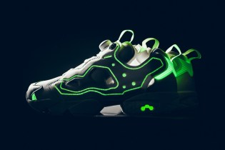 "The Glow-In-The-Dark, ""Triple White"" Empty Canvas x Reebok Instapump Fury OG"