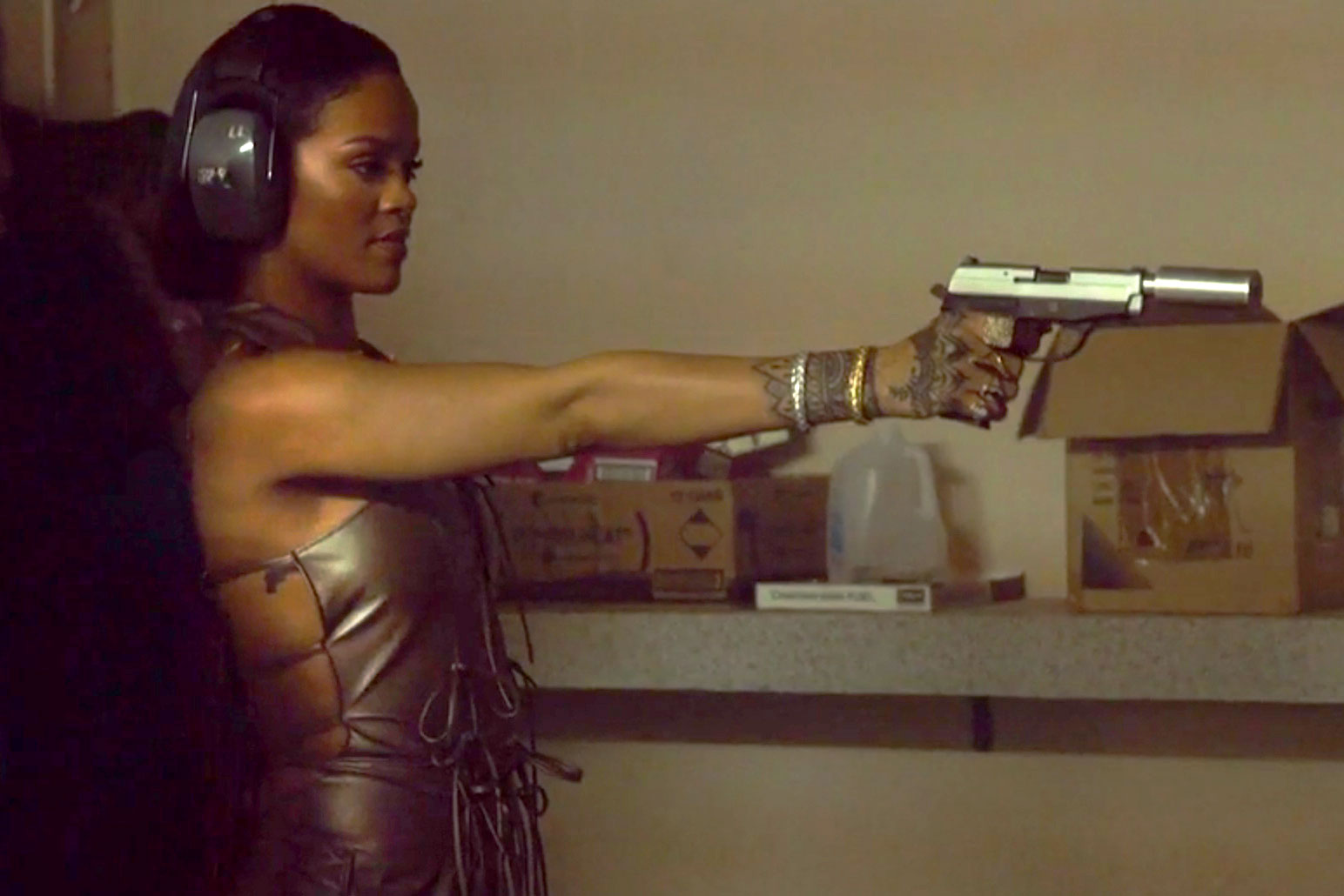 """Watch These Behind-the-Scenes Vignettes of Rihanna's """"Needed Me"""" Music Video"""