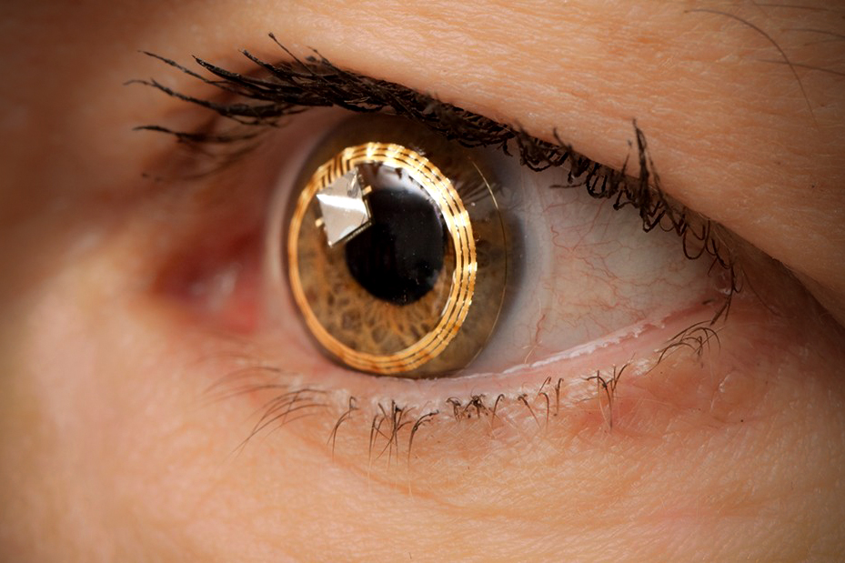 Samsung Patents Smart Contact Lens Technology With Built-In Camera