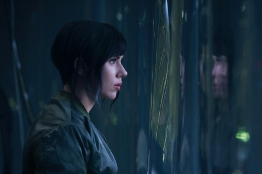 A First Look at Scarlett Johansson in DreamWorks' 'Ghost in the Shell'