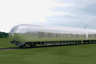 Japan's Newest Express Train Is Designed to Blend Into the Landscape