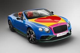 The Bentley Continental GT V8 S Receives a Pop Art Makeover by Sir Peter Blake