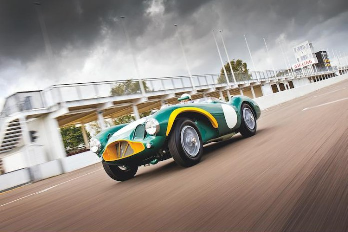 Sir Stirling Moss' 1954 Aston Martin DB3S Expected to Fetch $10 Million USD