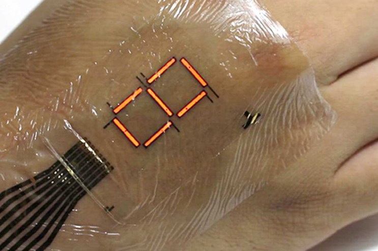This Ultra-Thin LED Technology Can Be Pasted Onto Your Skin
