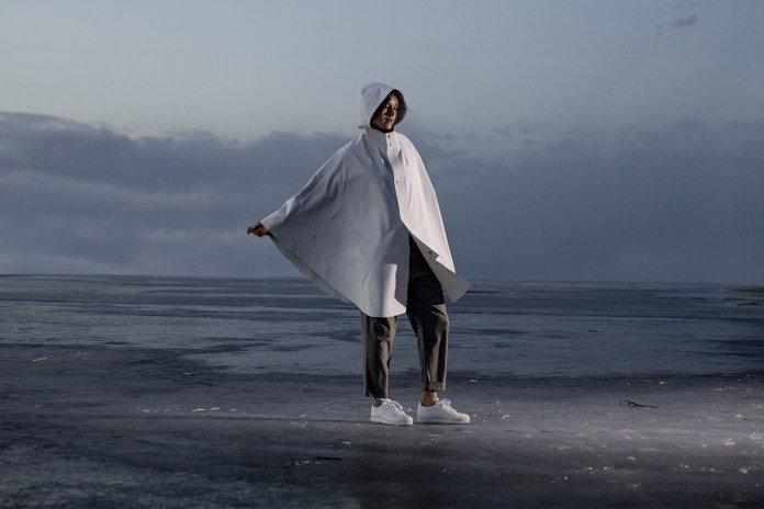 Snarkitecture Brings Its Aesthetic to a Limited Edition Waterproof Poncho