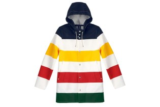 Stutterheim & Hudson's Bay Company Team up for Special Unisex Raincoat