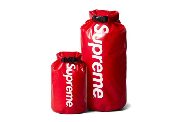Supreme's New Dry Sack Will Protect Your Belongings From the Rain