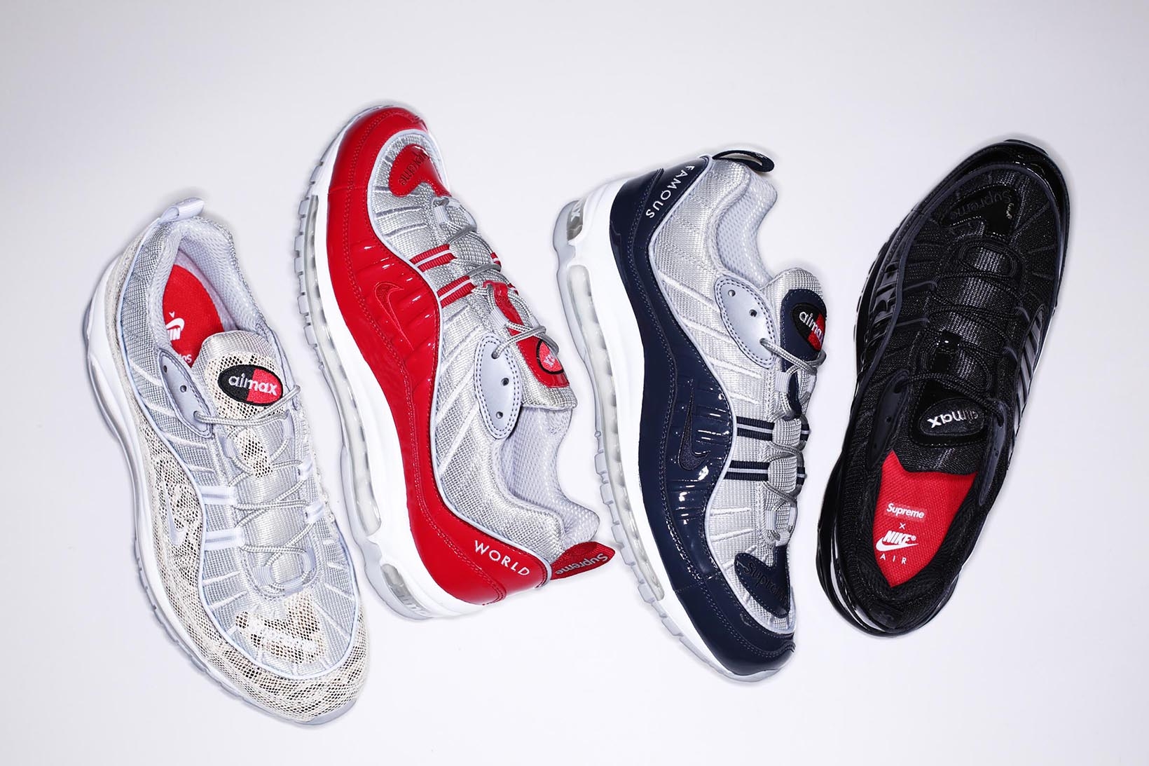 37f410ad163 ... where can i buy release update supreme x nike air max 98 spring 2016  collection 2