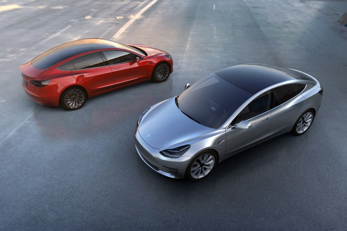 Tesla Unveils the $35,000 USD Model 3