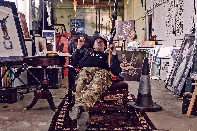 "'The Banksy Job' Follows the Real-Life Art Heist of ""Art Terrorist"" AK47"