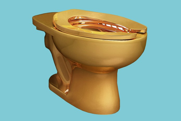 The Guggenheim Is Installing a Solid 18-Karat Gold Toilet