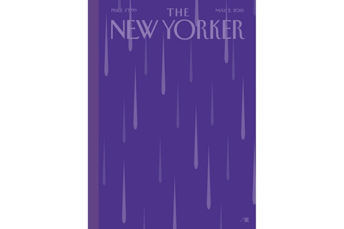 'The New Yorker' Pays Homage to Prince with 'Purple Rain' Cover