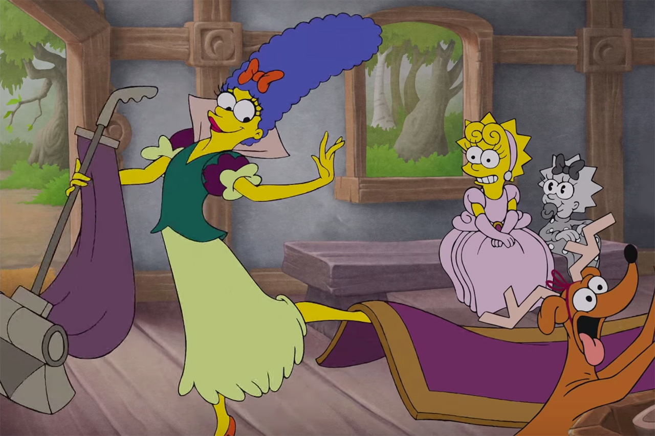 'The Simpsons' Pays Tribute to Classic Disney Films in Its Latest Couch Gag