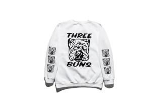 Burger Joint Three Buns Taps Cult Illustrator Fergadelic for a Capsule Collection