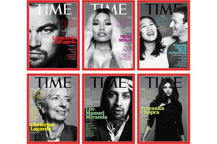 'TIME' Names Its 100 Most Influential People in the World for 2016