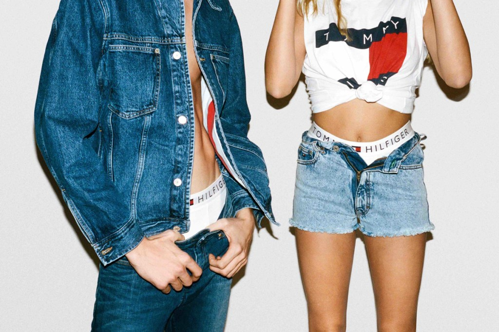 Tommy Hilfiger Revives the 90s With Tommy Jeans Collection