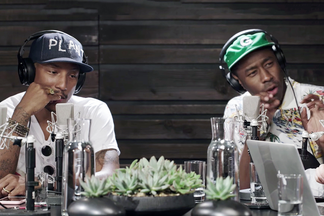 Tyler, The Creator, Chad Hugo & Justin Timberlake Guest Star on Pharrell's OTHERtone