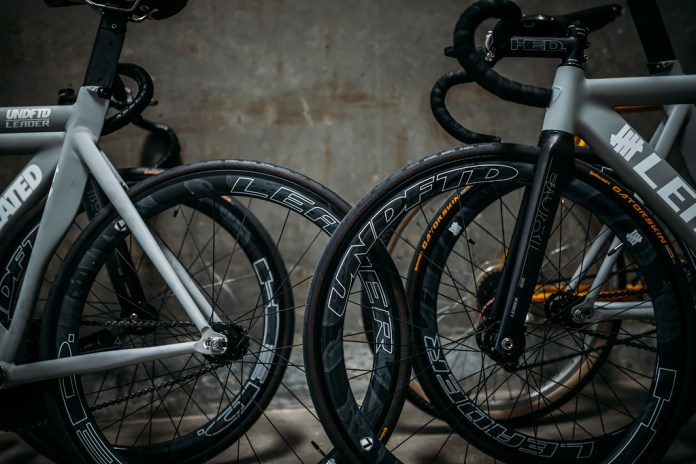 Leader Bikes Teams up With UNDFTD for a Bike Racing Team