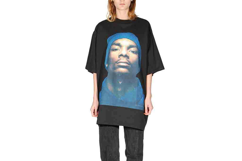 vetements 900 dollar snoop dogg t shirt hypebeast. Black Bedroom Furniture Sets. Home Design Ideas