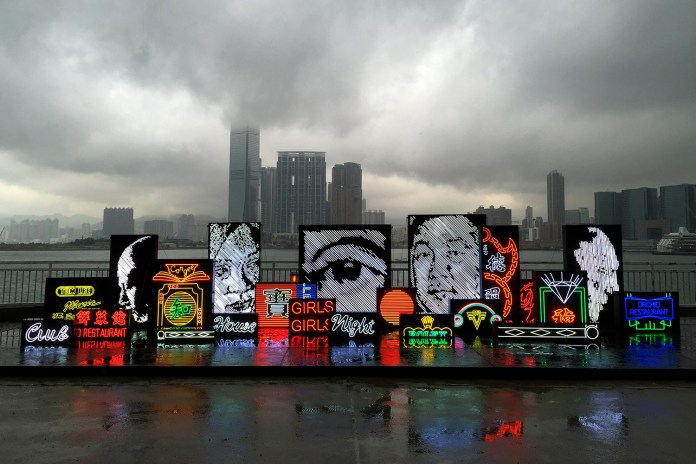 "Vhils Takes Over Hong Kong With His ""Debris"" Solo Exhibition"