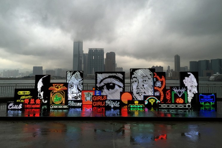 """Vhils Takes Over Hong Kong With His """"Debris"""" Solo Exhibition"""