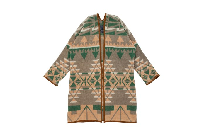 visvim's Latest Sanjuro Coat Features a Navajo-Inspired Print